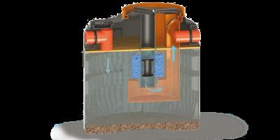 antonini ekologija i priroda, separator ulja sa koalescentnim filterom
