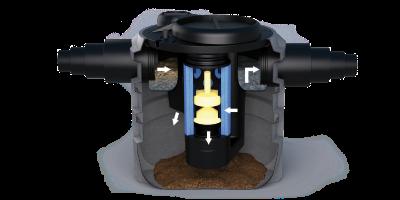 antonini ekologija i priroda, separator ulja sa koalescentnim filterom i integriranim bypass-om